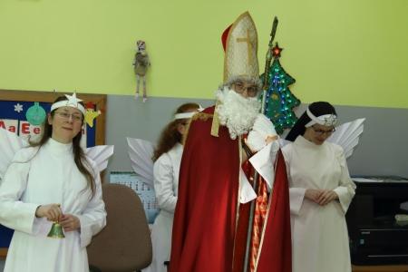 Św. Mikołaj u przedszkolaków